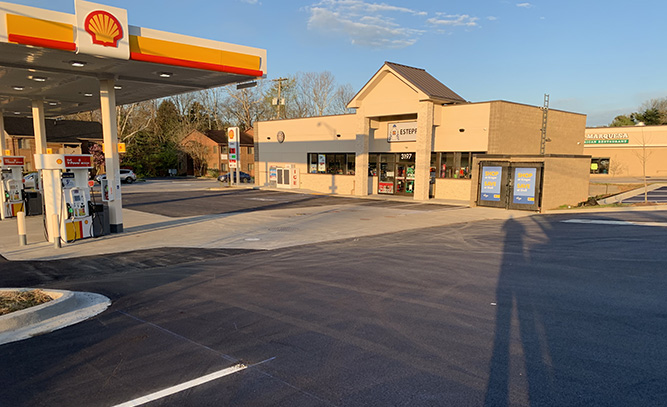 Clays Mill Shell Gas Station